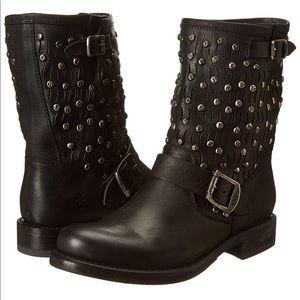 FRYE Jenna Cut Stud Boots
